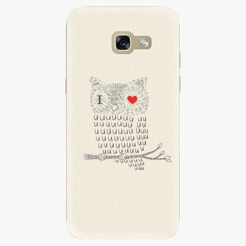 Plastový kryt iSaprio - I Love You 01 - Samsung Galaxy A5 2017