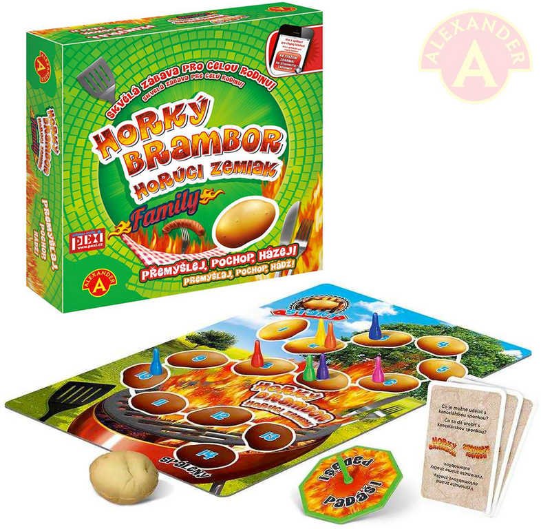 ALEXANDER Hra Horký brambor family *SPOLEČENSKÉ HRY*