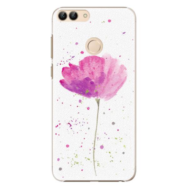 Plastové pouzdro iSaprio - Poppies - Huawei P Smart