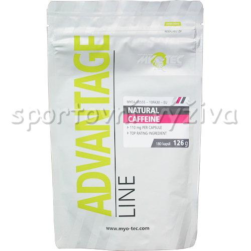 Natural Caffeine 180 kapslí