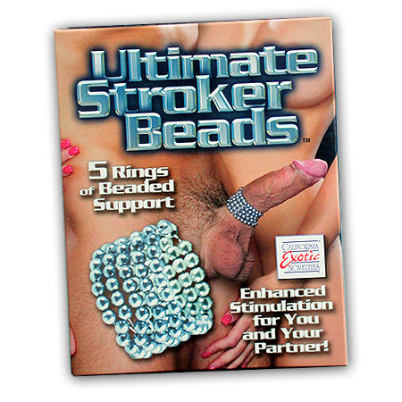 Perličkový erekční kroužek - Ultimate Stroker Beads