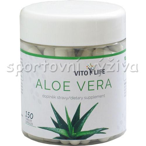 Aloe Vera 100 mg 150 kapslí