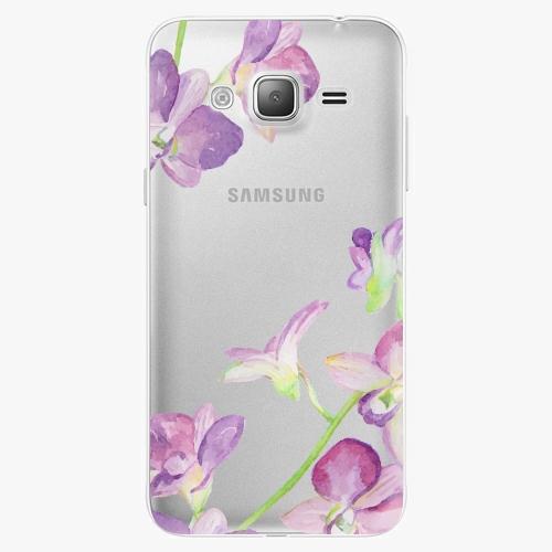 Plastový kryt iSaprio - Purple Orchid - Samsung Galaxy J3 2016
