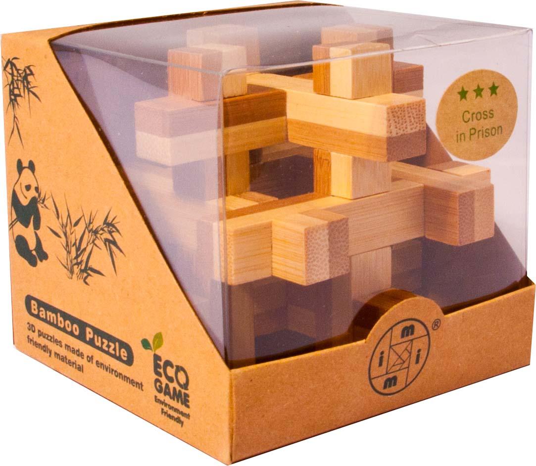 Bambusový - hlavolam - Kvádry