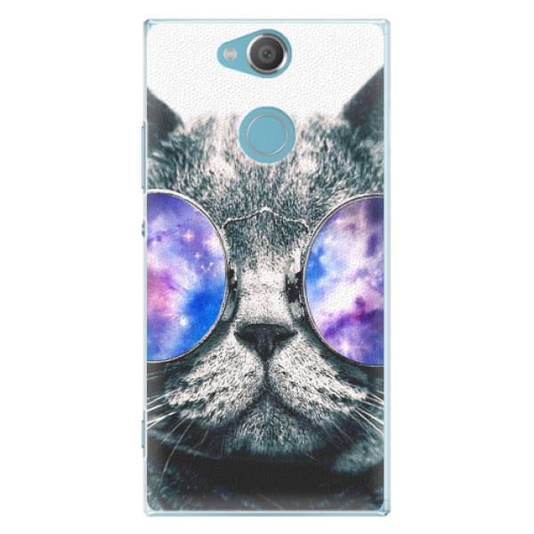 Plastové pouzdro iSaprio - Galaxy Cat - Sony Xperia XA2