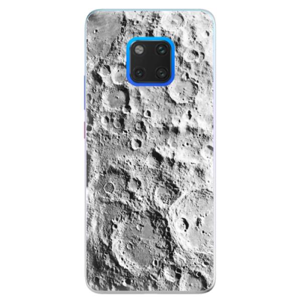 Silikonové pouzdro iSaprio - Moon Surface - Huawei Mate 20 Pro