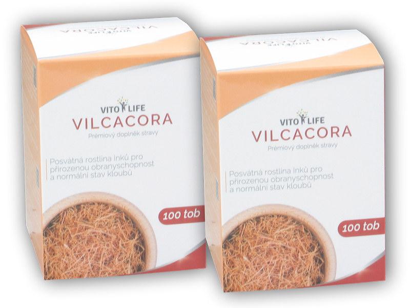 2x Vilcacora 100 kapslí