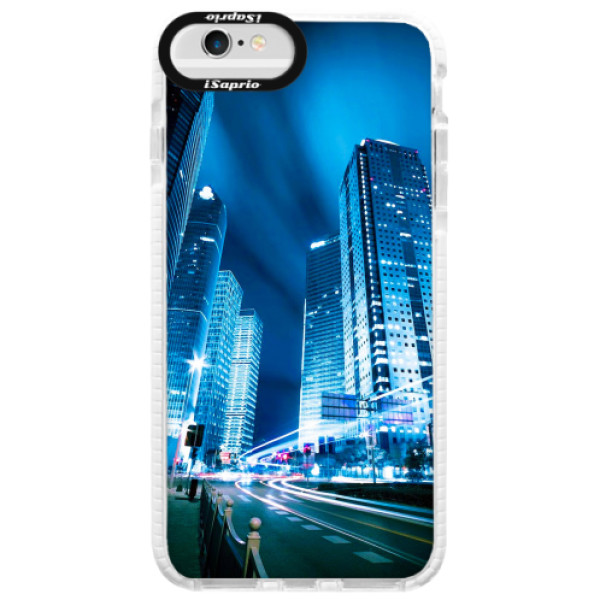 Silikonové pouzdro Bumper iSaprio - Night City Blue - iPhone 6/6S