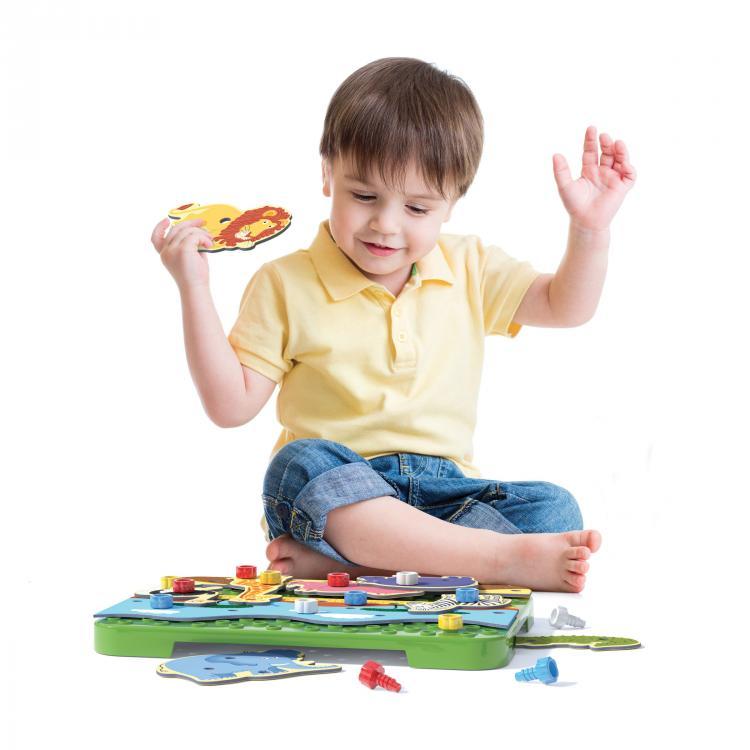 Quercetti Tecno Puzzle 33 ks 0556