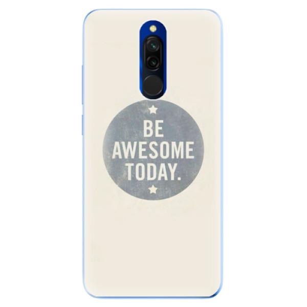 Odolné silikonové pouzdro iSaprio - Awesome 02 - Xiaomi Redmi 8