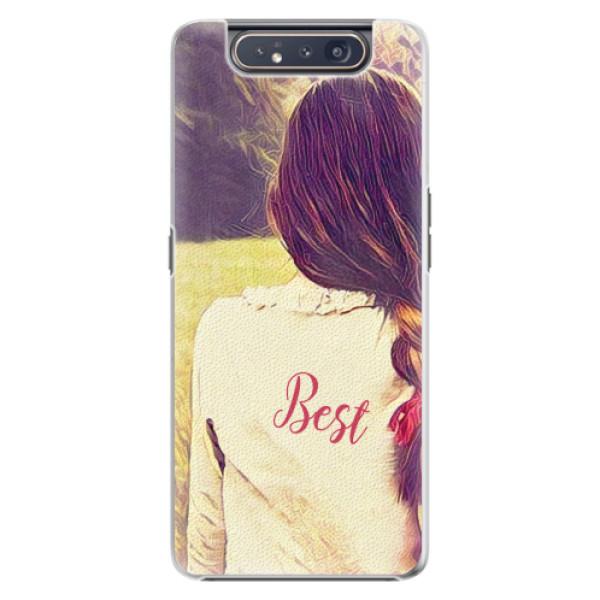 Plastové pouzdro iSaprio - BF Best - Samsung Galaxy A80