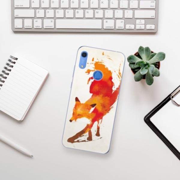 Odolné silikonové pouzdro iSaprio - Fast Fox - Huawei Y6s
