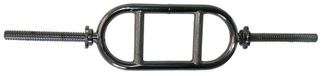 Speciální hřídel na tricepsy - délka 870 mm, 25 mm