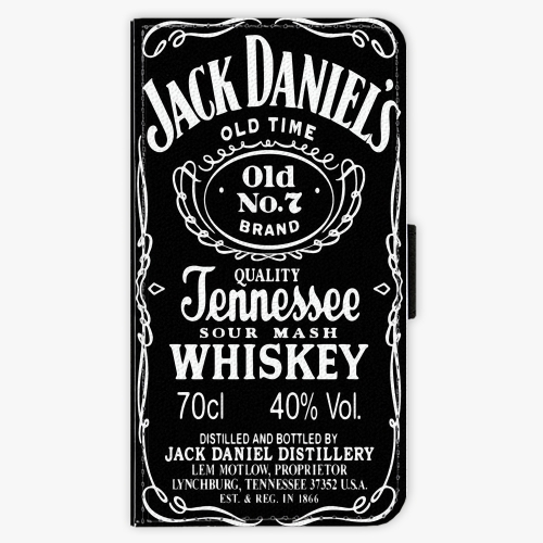 Flipové pouzdro iSaprio - Jack Daniels - Samsung Galaxy A3
