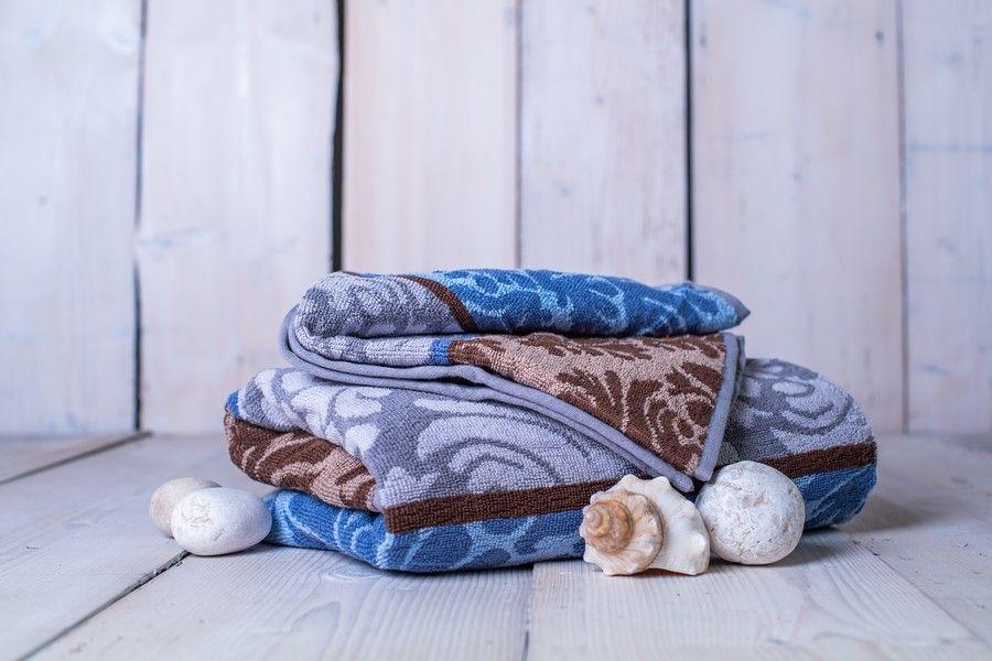 Set osuška + ručník Orient - modrá