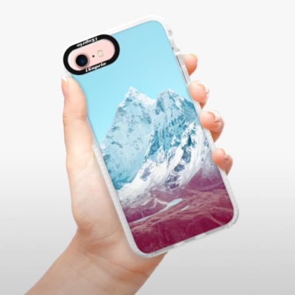 Silikonové pouzdro Bumper iSaprio - Highest Mountains 01 - iPhone 7