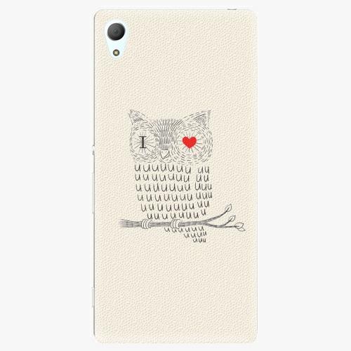 Plastový kryt iSaprio - I Love You 01 - Sony Xperia Z3+ / Z4