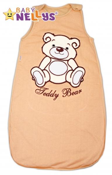 Spací vak TEDDY BEAR Baby Nellys - hnědý vel.