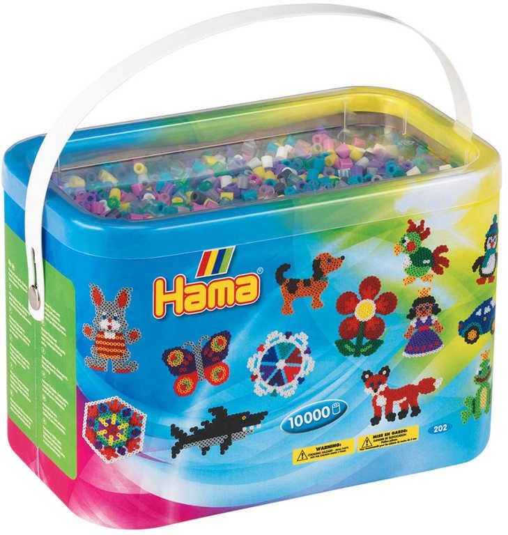 HAMA Korálky barevné zažehlovací Midi 10.000ks 53 barev v boxu