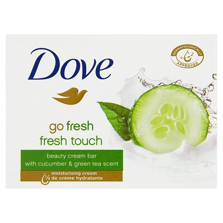Mýdlo Go Fresh s vůní okurky a zeleného čaje 100 g