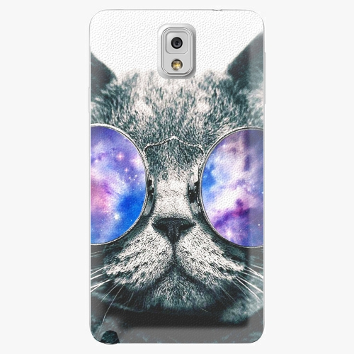 Plastový kryt iSaprio - Galaxy Cat - Samsung Galaxy Note 3