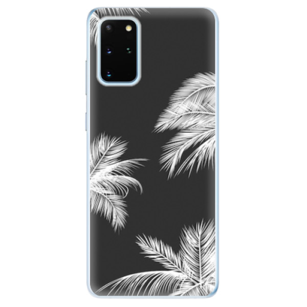 Odolné silikonové pouzdro iSaprio - White Palm - Samsung Galaxy S20+