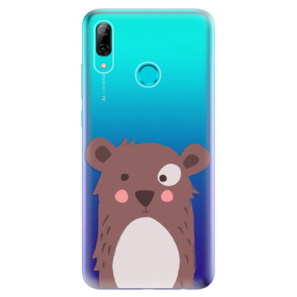 Odolné silikonové pouzdro iSaprio - Brown Bear - Huawei P Smart 2019