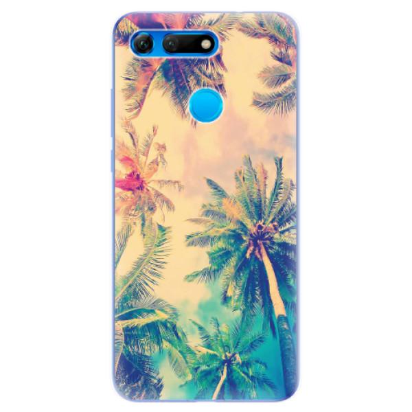 Odolné silikonové pouzdro iSaprio - Palm Beach - Huawei Honor View 20
