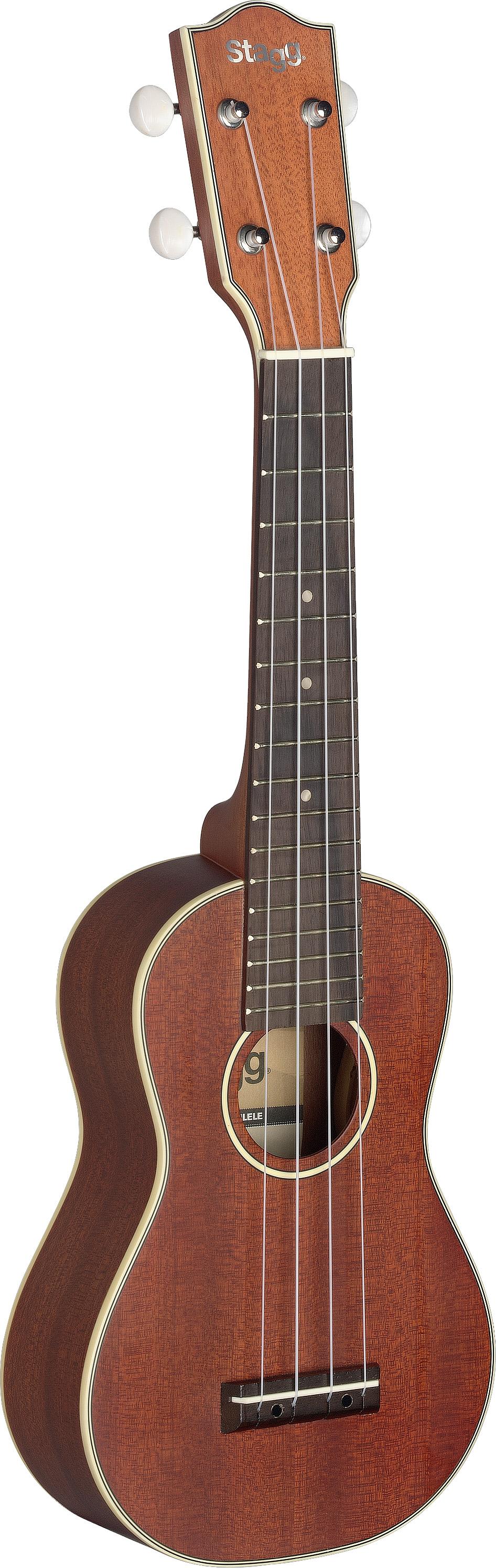 Stagg US80-S, sopránové ukulele, celomasivní mahagon