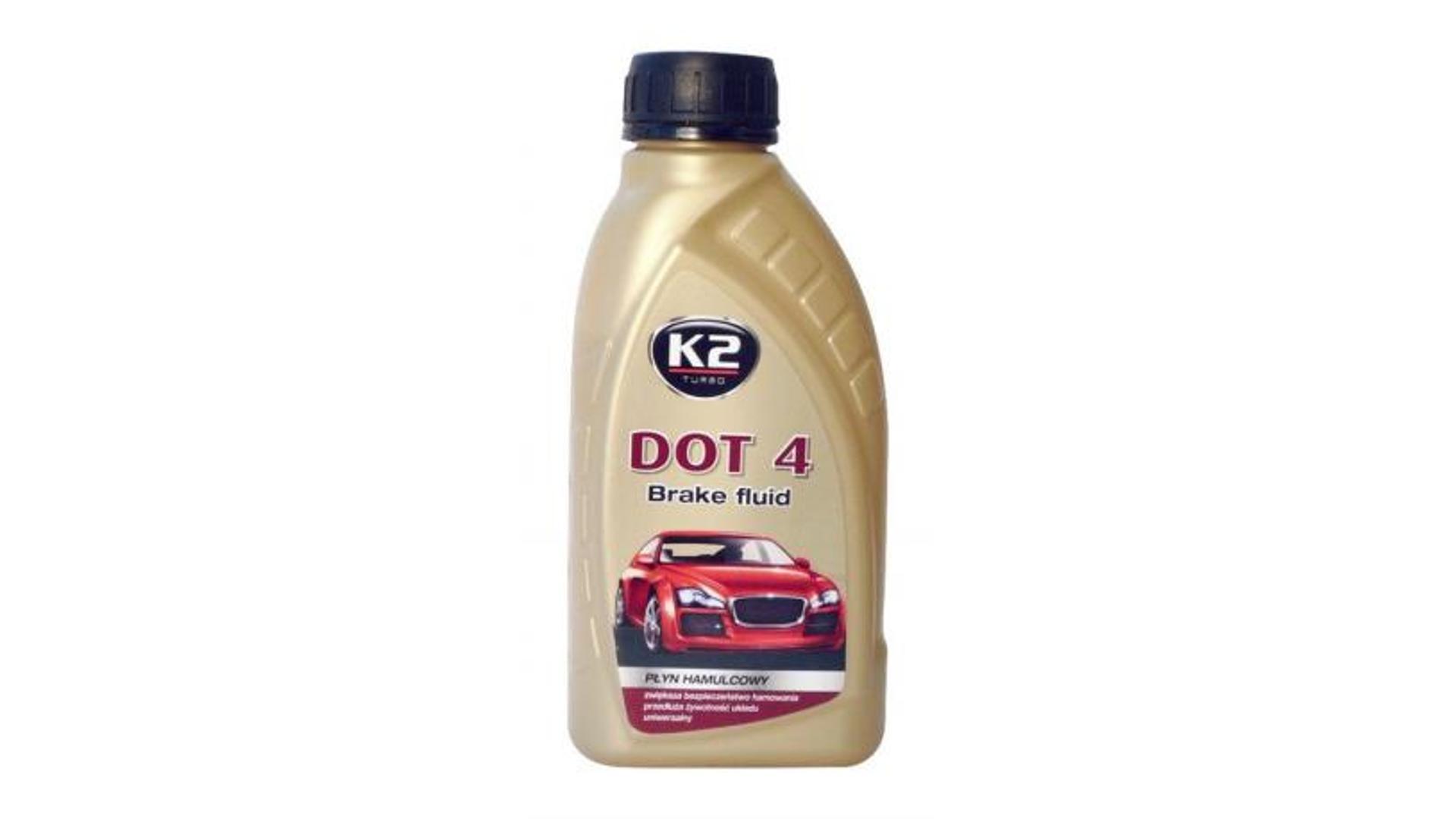 K2 DOT 4 - 500 ml - brzdová kapalina