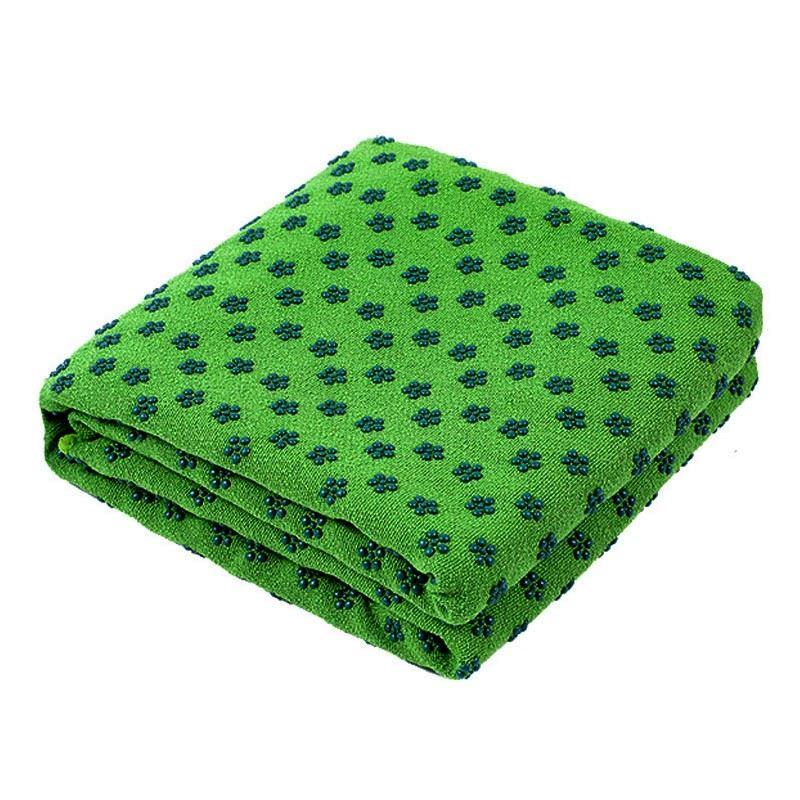 Protiskluzový ručník - zelený