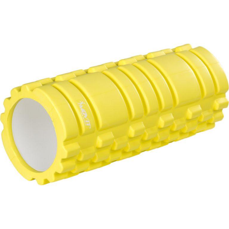 Posilovací masírovací válec - FITNESS ROLLER MOVIT citronová