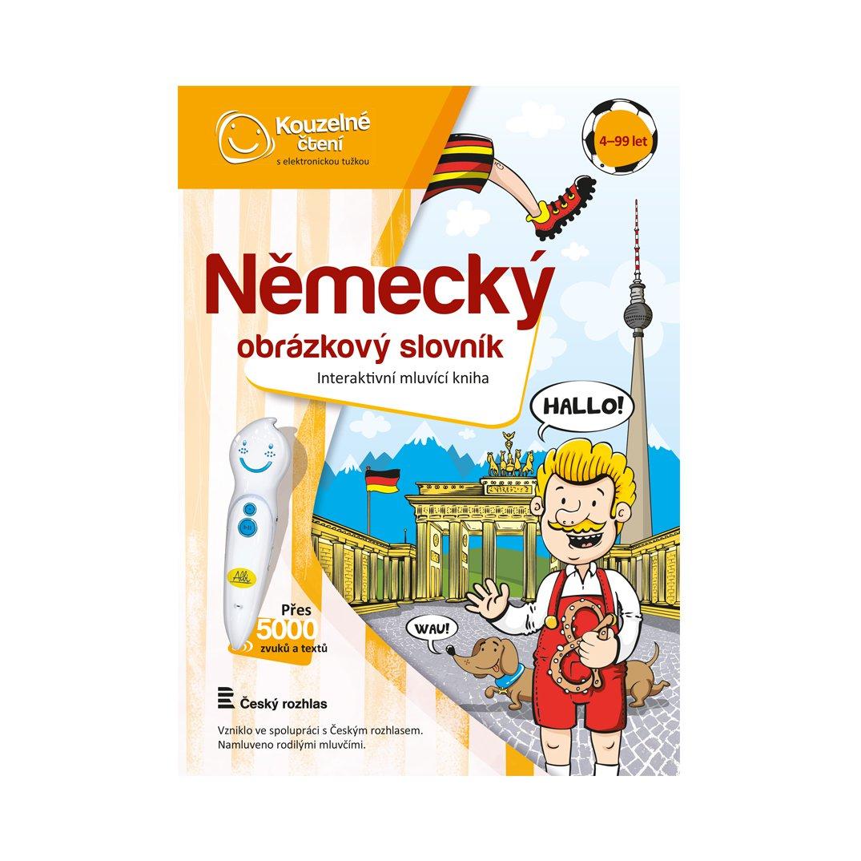 Kniha Německý obrázkový slovník