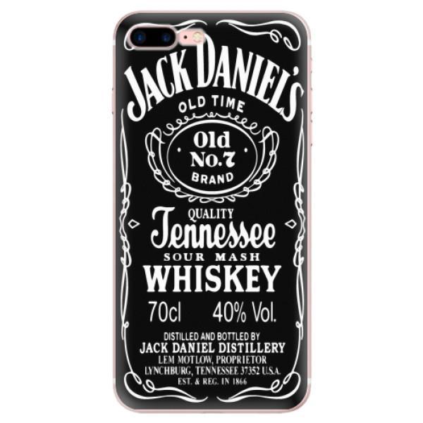 Odolné silikonové pouzdro iSaprio - Jack Daniels - iPhone 7 Plus