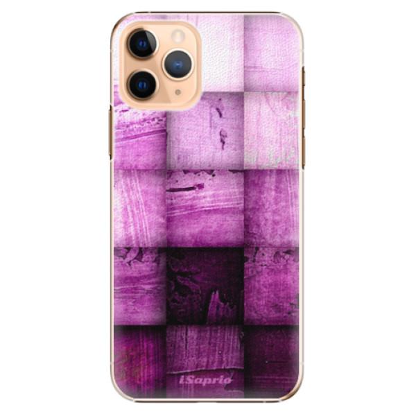 Plastové pouzdro iSaprio - Purple Squares - iPhone 11 Pro