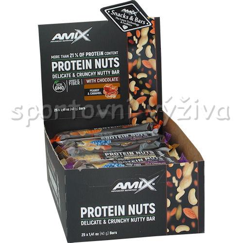 25x Protein Nuts Crunchy 40g MIX
