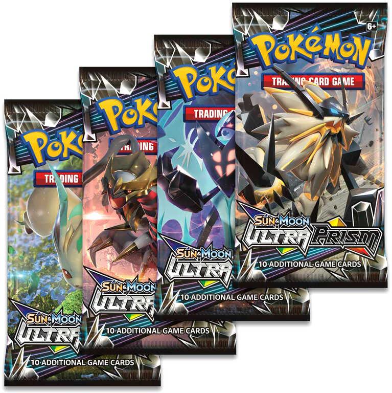 ADC HRA Karty doplňkové Pokémon SM5 Ultra Prism Booster 10 náhodných karet