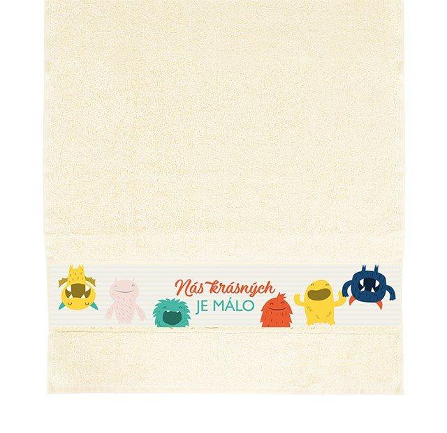Dárkové ručníky - Ručník - Krásných je málo
