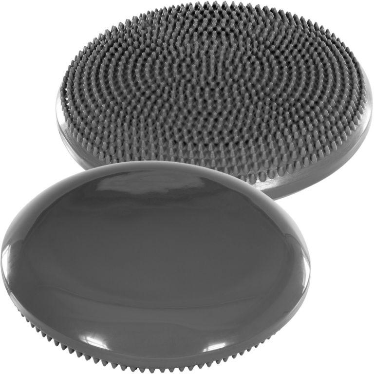 Balanční polštář na sezení MOVIT 33 cm - šedý