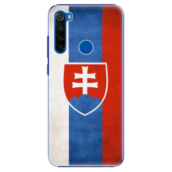Plastové pouzdro iSaprio - Slovakia Flag - Xiaomi Redmi Note 8T