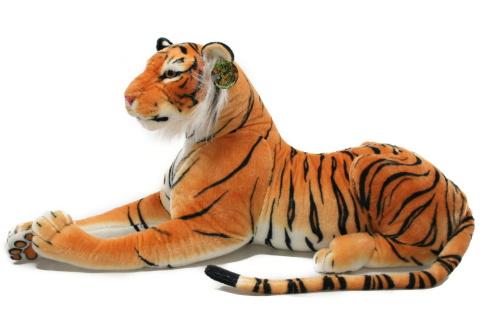 Plyš tygr hnědý 100 cm