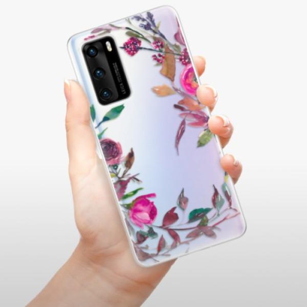 Odolné silikonové pouzdro iSaprio - Herbs 01 - Huawei P40