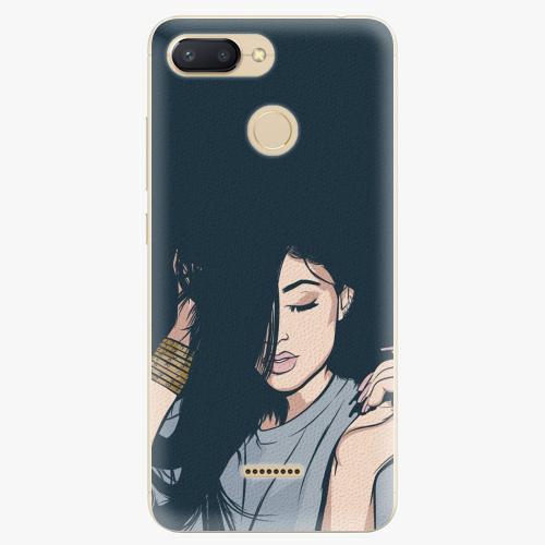 Silikonové pouzdro iSaprio - Swag Girl - Xiaomi Redmi 6