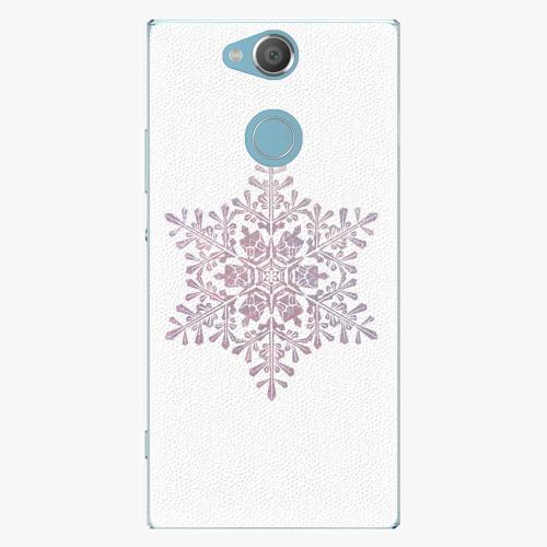 Plastový kryt iSaprio - Snow Flake - Sony Xperia XA2