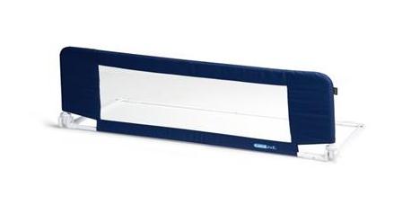 Bezpečnostní zábrana na postel Mini MOON - tm. modrá