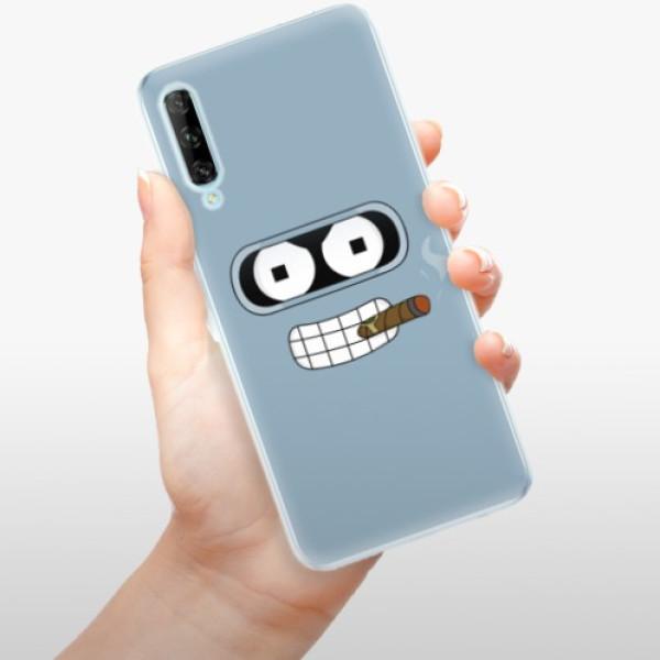Odolné silikonové pouzdro iSaprio - Bender - Huawei P Smart Pro