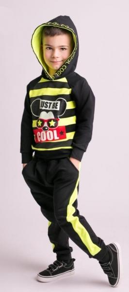 g-baby-stylova-bavlnena-teplakova-souprava-niko-neon-zluta-cerna-vel-110-110