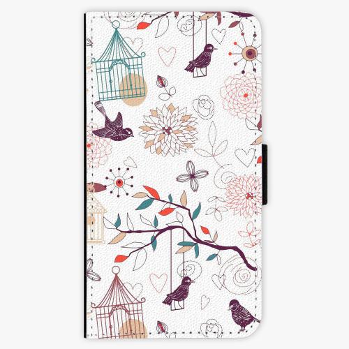 Flipové pouzdro iSaprio - Birds - Samsung Galaxy J1 2016