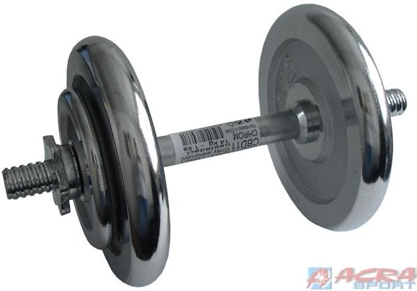 ACRA Činka nakládací, jednoruční, chromová 14 kg