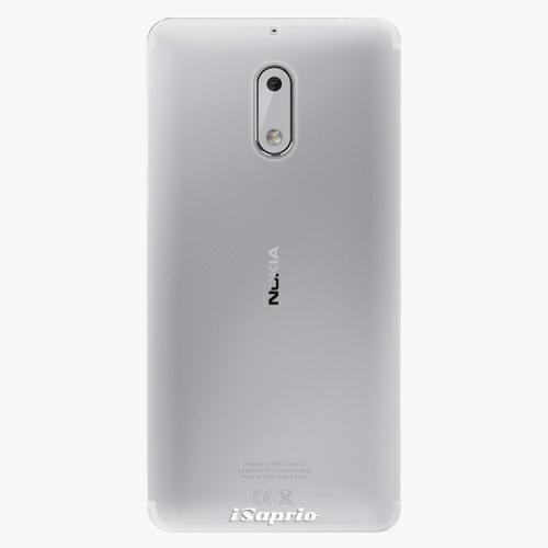 Plastový kryt iSaprio - 4Pure - průhledný matný - Nokia 6